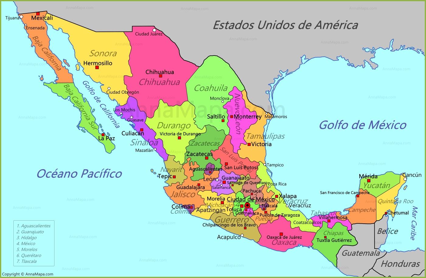 Terremoto de magnitud 7,5 sacude México.