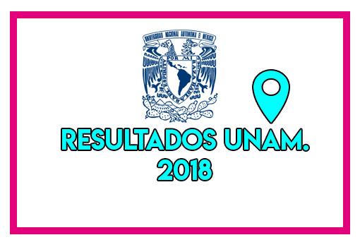 Resultados de examen UNAM