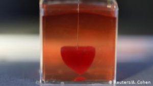 Científicos israelíes imprimieron el primer corazón de tejido humano