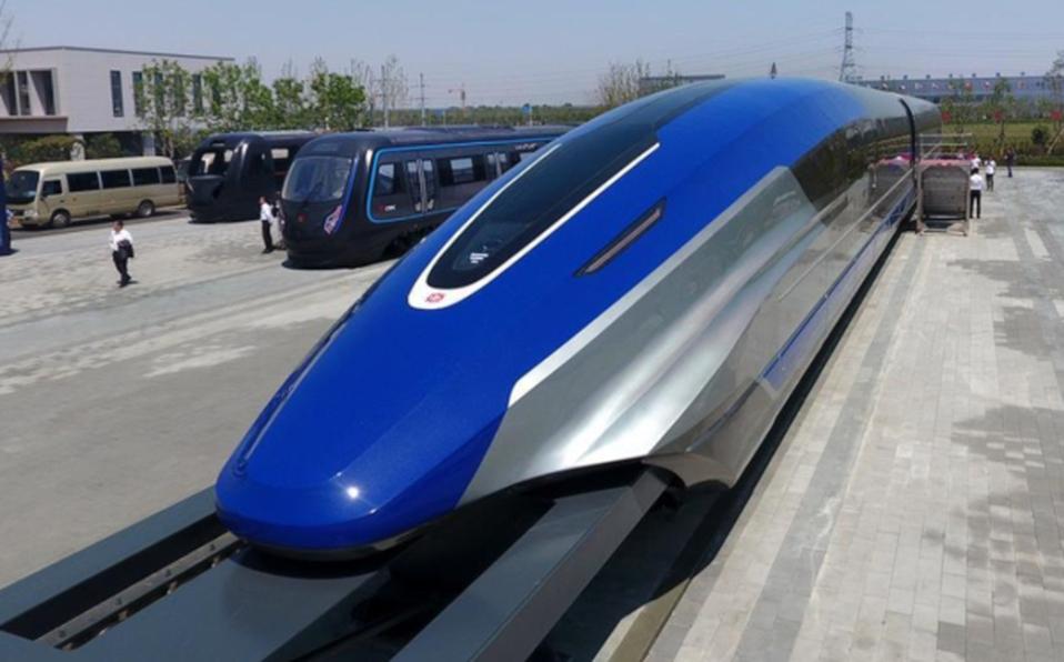 El nuevo tren chino de levitación magnética-600 km/h