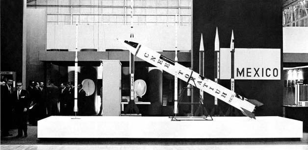 El primer país de LATAM en la carrera espacial:MÉXICO. El 1957, cuando el Sputnik era lanzado por la Unión Soviética, en San Luis Potosí se construía el primer cohete