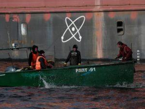 Accidente nuclear en el Ártico
