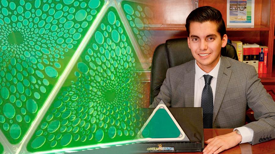 Mexicano desarrolla paneles solares que generan oxígeno