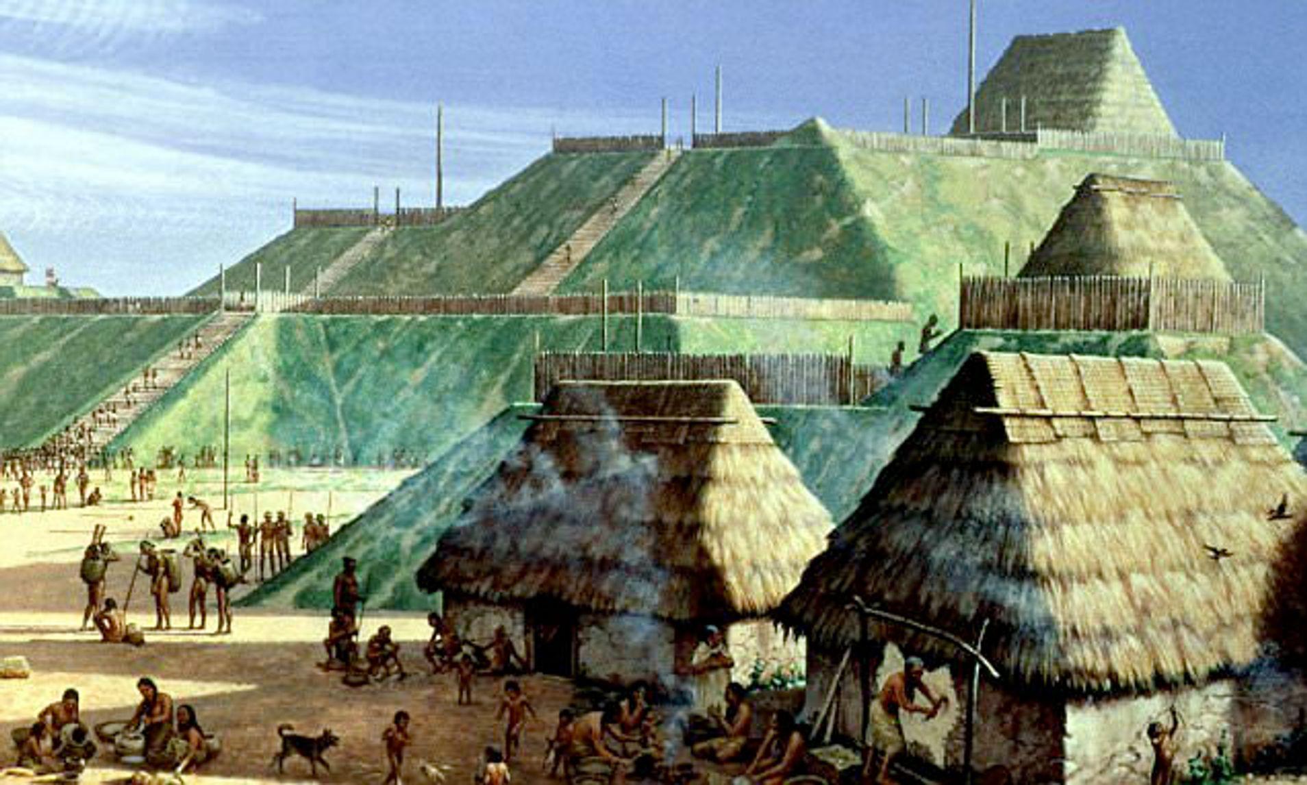 Cahokia: las pirámides ocultas del Misisipi en EEUU.