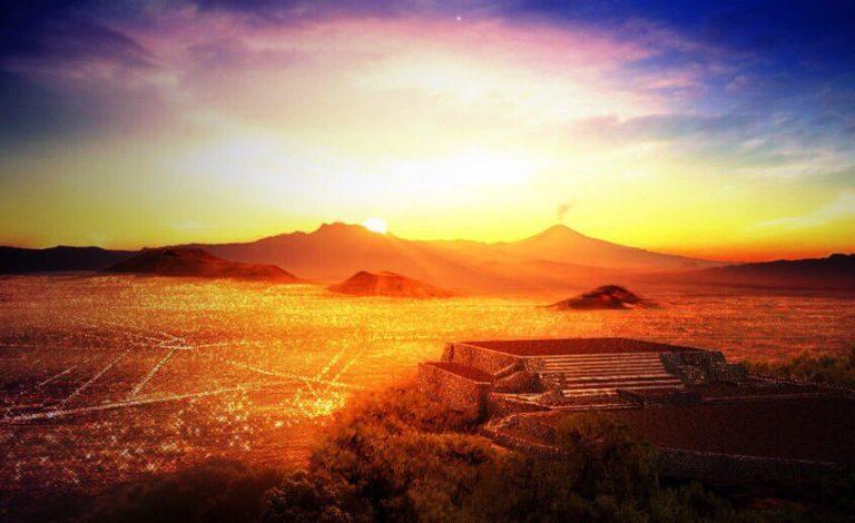 Milenaria pirámide 'Teotihuacana' oculta de bajo la crucifixión de Jesús en Iztapalapa