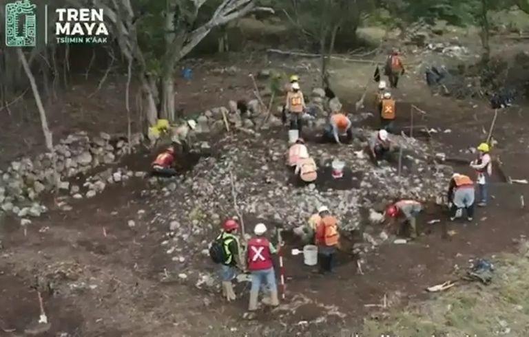 Tesoro Arqueológico ; Encuentran Canoa prehispánica MAYA